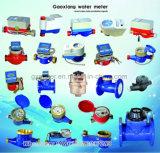 Compteur d'eau en nylon plastique Multi Jet avec pièces mécaniques