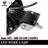 "7"" de alta calidad 108W de luz LED de trabajo para el Offroad, Tractor Impermeable IP67."