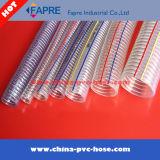 プラスチックHose/PVC鋼線の補強された吸引Hose/PVCの補強のホース