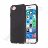 Negro azabache de teléfono de silicona TPU para iPhone 7