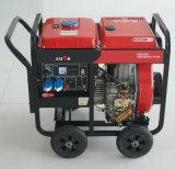 Bisonte (Cina) BS6500dce (H) 5kw 5kVA generatore diesel portatile della saldatura della garanzia da 1 anno piccolo un generatore di 3 fasi