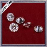 Diamante rotondo eccellente di Moissanite del taglio di stella di bianco 8mm per la regolazione dell'anello