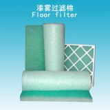 Filtro del suelo del polvo de la pintura del filtro de aire de la fibra de vidrio para la cabina de aerosol de la pintura del coche