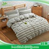 大学のための快適なサテンの黄色および灰色の寝具