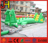 Aufblasbares Krokodil-Wasser-Hindernis-Kurs-Krokodil-aufblasbares Hindernis