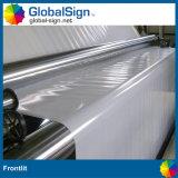 Material de la flexión del PVC, vinilo revestido Frontlit para la impresión solvente