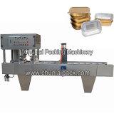 Máquina da selagem da bandeja da folha de alumínio