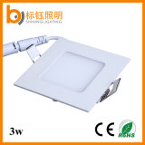 3W 3 Year Warranty nonFlicker Ultrathin Slim LED Ceiling Lighting Square Lamp Panel