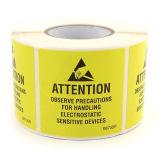 ESDは静的な領域のためのクリーンルームESDの警告テープを録音する