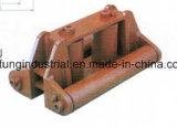 Schiffsanlegepoller von Eisen oder Stahl, auch Chock und Leitöse
