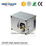 De Scanner Jd1403 van Galvo van de Hoge snelheid Chinees-Galvo voor het Merken van de Laser van de Precisie