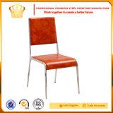 低い販売のための椅子を食事する卸し売り高品質のステンレス鋼