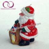 Комплект подарка свечки искусствоа свечки Santa Claus свечек празднества