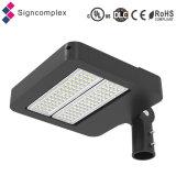 IP65 prezzo chiaro superiore dell'UL Dlc LED Shoebox per l'indicatore luminoso del parcheggio