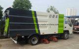 Foton 6 rotelle che scopano il camion della spazzatrice di strada della macchina 3cbm
