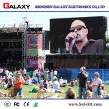 Pantalla de visualización a todo color al aire libre de LED para los conciertos de alquiler de los acontecimientos