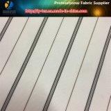 Klassisches weißes Futter, Polyester-Garn-gefärbter Streifen für Klage-Futter (S62.70)
