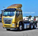 De Primaire krachtbron van Sinotruk HOWO 6X4/de HoofdVrachtwagen van de Tractor