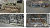 White Prehung Interior de madeira de PVC porta de painel americano (WDHC01)