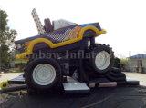 Verkaufender aufblasbarer LKW-Hindernis-Kurs-aufblasbarer Spitzenlastwagen für Kinder und Erwachsene