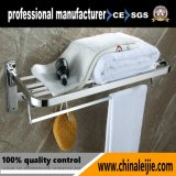 Fornecedor acessório de dobramento do banheiro da cremalheira de toalha do aço inoxidável