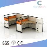 現代家具の事務机ワークステーション