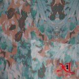 Poliéster Jacquard Polyester Chiffon Fabric for Garment