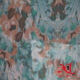 Ткань полиэфира жаккарда полиэфира шифоновая для одежды