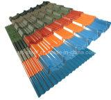 파 강철 기와 또는 직류 전기를 통한 색깔 루핑 장 또는 색깔 강철 플레이트
