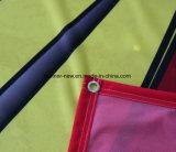 Tissu de polyester Couleur brillante bannières (SS-SF-90)