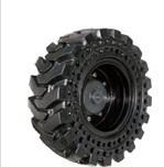 최신 바브 미끄럼 수송아지 로더 타이어 (10-16.5, 12-16.5) 단단한 타이어