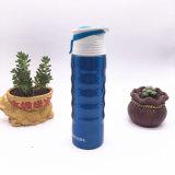 750 мл идеально подходит для использования вне помещений из нержавеющей стали спорта бутылка воды с крышкой (SH-ST08)