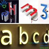 Verlichte leiden Tekens van de hete LEIDENE van de Douane van de Verkoop Openlucht 3D Acryl Backlit van het Kanaal Brieven Teken