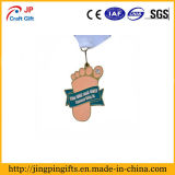 Medalla del recuerdo con la decoración de la dimensión de una variable de los pies