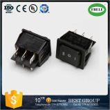 (A) -off- (0N) 6p Double-Poles Dpst interruptor oscilante, Mini-Switch, Switch pequeno, Interruptor de automóvel