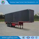 3 Asbus/Van Type Cargo Semi Aanhangwagen met As Fuwa voor Vervoer van Bulkgoederen