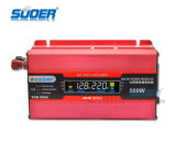 Inversor del inversor 500W DC12V de la visualización del LCD del precio de fábrica de Suoer (SDB-500A)
