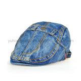 Бейсбольная кепка ПЛЮЩА джинсовой ткани способа, шлем берета спортов