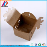 Переработанных пользовательских складывание крафт-бумаги мыло упаковке с окна