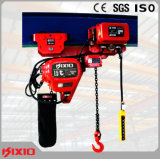 1.5 Tonne Niedrig-Durchfahrtshöhe elektrische Kettenhebevorrichtung für begrenzte Platz-Werkstatt