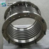 Joint de dilatation à flasque en métal et ajustage de précision de pipe ondulé de soufflets de compensateur