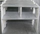 De lichtgewicht Steiger van de Trede van het Aluminium Mobiele voor de Fabriek van China van de Verkoop