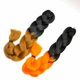 Выдвижение 100% волос трудной оплетки Barid Kanekalon волос Jumbo синтетическое Lbh 055