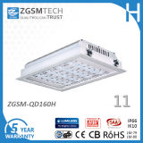 160W LED Empotrables Canopy Montadas en Superficie Luminaria de Garage