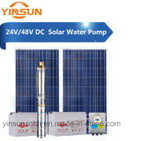 Водяная помпа глубокого добра DC 24V 48V 150W для солнечного