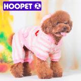 분홍색과 White Lovable Dog Clothes