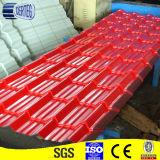 Azulejos de azotea revestidos prepintados del cinc con precio barato