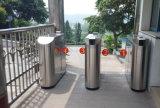 der 900mm Durchgang-Breiten-Sicherheits-flattert Fußgängerzugriffs-Doppeltes Sperren-Drehkreuz