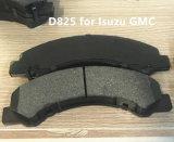 Fabricant de pièces de voiture automatique de bonne qualité d825 La plaquette de frein pour Isuzu GMC
