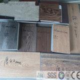 Plancher ignifuge antidérapage de vinyle de PVC Spc